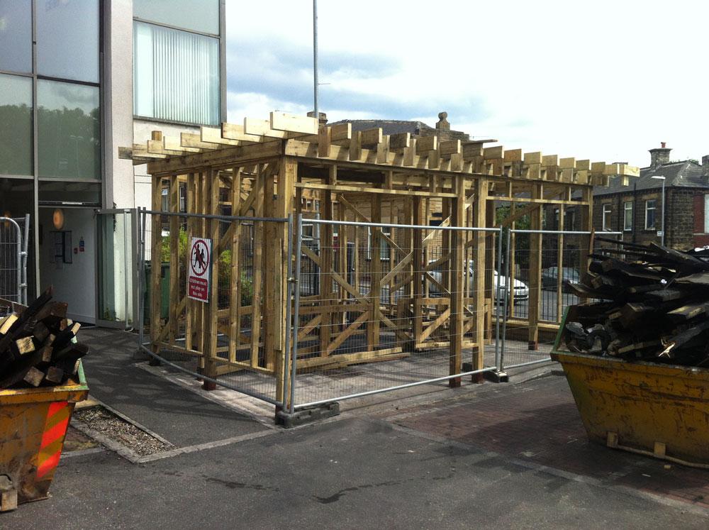 Norcroft Builders Sunderland - Melbourne Bin Shed