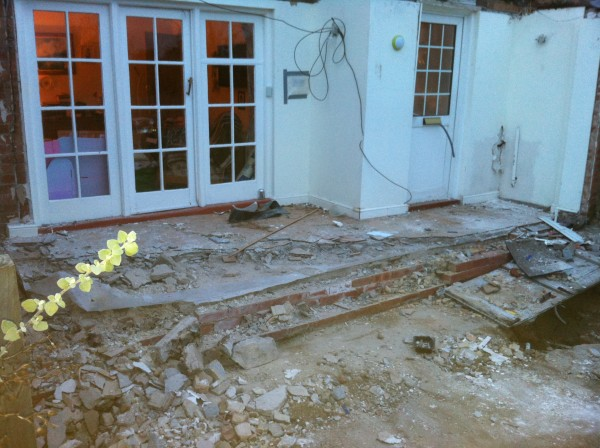 House extension removed