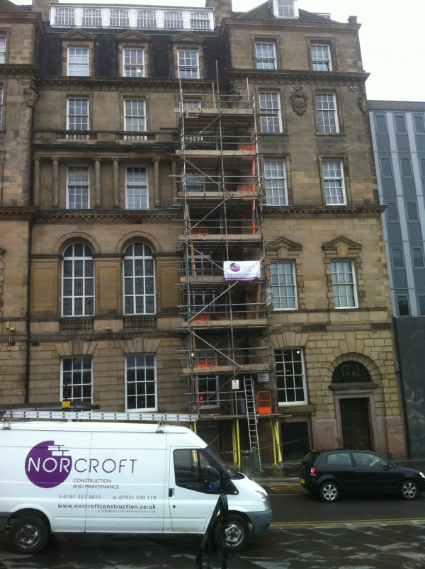 Replacing old pipework in Newcastl