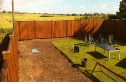 New fence – Sunderland