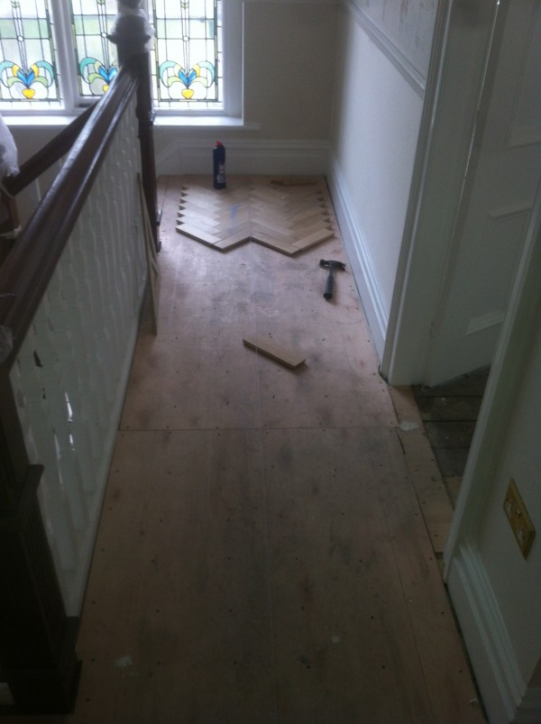Laying parquet flooring Jesmond
