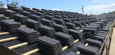 Replacing Slate Roof – Sunderland