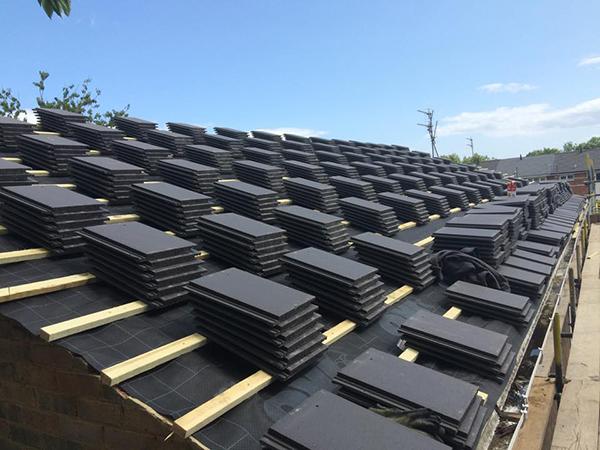 preparing-new-roof-tiles