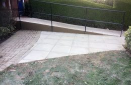Disabled Ramp and Paving