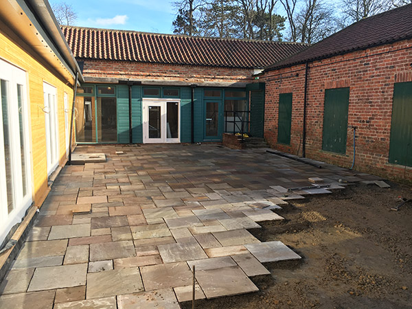 Patio and landscaping Yorkshire